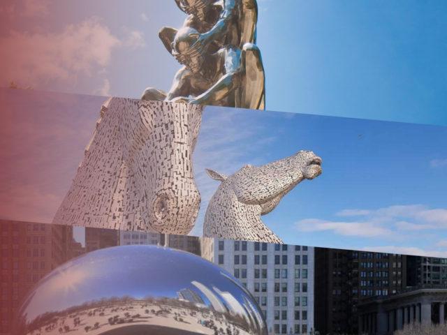 Conheça as mais incríveis obras de arte em aço inoxidável!